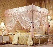 Moskitonetze, Edelstahl, 1.5m1.8 m Bett, 1.2 drei öffnen die Tür, Seitenoberseite, einzeln, doppelt , #3 , 150*200cm