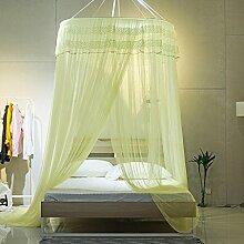 Moskitonetze, hängende Art, rund, verschlüsselt, Spitzenspitze, Hausbettdekoration , 3