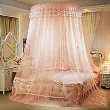 Moskitonetze, runde Spitze, Decke, 1,5 / 1,8 / 2m Reisbett, Boden europäischer Stil, 1,2m Bett , 1
