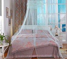 Moskitonetze, runde Spitze, Decke, Decke, Prinzessin, Studenten, Heimtextilien , 4