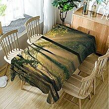 Moslion Tiger Tischdecke, 52 x 70 cm,