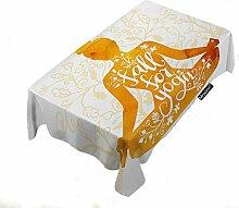 Moslion Tischdecke für Lebensmittel, Aquarell,