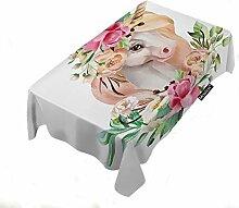 Moslion Tischdecke mit Schriftzug Cheers Bitches