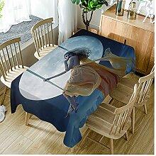 Moslion Tischdecke Tischdecken Rechteckig
