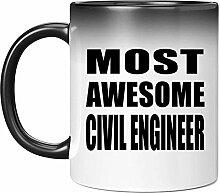 Most Awesome Civil Engineer - 11 Oz Color Changing