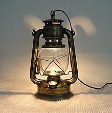 Motesuvar Retro - Laterne Lampe Petroleumlampe Dimmen Plug - In - Bett Lampe Dekoration Lampe Laterne Persönlichkeit,Eine Bronze - Glühbirne,Button Wechseln