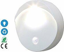 Motion-Sensing Night Light, Bright LED Niedriger Stromverbrauch Akku Powered Wireless LED Nacht Lampe Mit Batterie