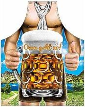 Motiv-Fun/Spaß-Grill/Kochschürze/ Thema Bier/Bayern/Oktoberfest: Oane geht no! - inkl. Spaß-Urkunde