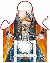 Motiv-Fun/Spaß-Grill/Kochschürze/ Thema Motorrad: Free Rider - inkl. Spaß-Urkunde