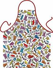 Motiv/Themen-Grill/Koch-Schürze Thema Italien inkl. Spaß-Urkunde: Italien Design - geniales Geschenk