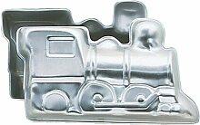 Motivbackform, Backform Zug 3-D, Wilton, Zug-Backform, Aluminium