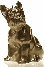 Motivkerze Bulldogge Candellana Farbe: Braun
