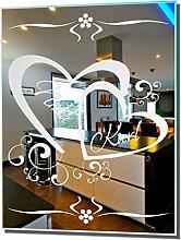 Motivspiegel Liebe 17 - 30x40cm - Geschenk zum