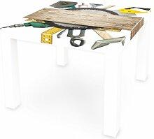 Motivsticker banjado für IKEA Lack Tisch 55x55 cm