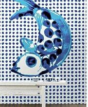 Motivtapete Addiction PNO-01 Fish and Dots 34 cm x