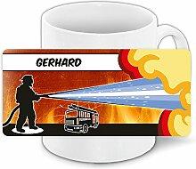 Motivtasse mit Namen Gerhard und schönem