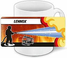 Motivtasse mit Namen Lennox und schönem