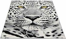 Motivteppich Trendteppich Flash Leopard 120 x 170 cm