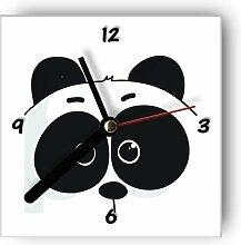 Motivx Wanduhr mit Motiv - Panda Comic