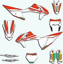 Motocross-Aufkleber Aufkleber for KTM SX SXF EXC