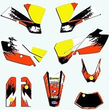 Motocross-Aufkleber for EXC 2004