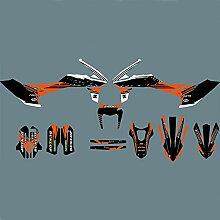 Motocross-Aufkleber for KTM 690 SMC 2011-2008