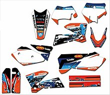 Motocross-Aufkleber for KTM EXC 2003 Decals