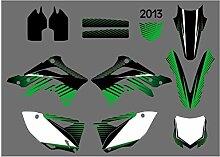 Motocross-Aufkleber Motorrad-Grafik-Hintergrund