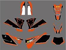 Motocross-Aufkleber