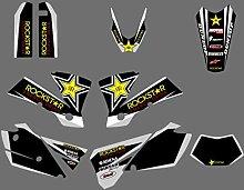 Motocross-Aufkleber Motorrad Graphics Aufkleber