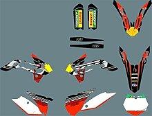 Motocross-Aufkleber Motorrad-Team Graphics