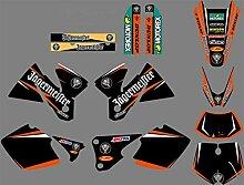 Motocross-Aufkleber Styles for KTM EXC 2004 Grafik