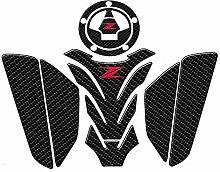 Motorrad 3D-Behälter-Auflage Protective Aufkleber