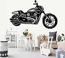 Motorrad Kindergarten Wandaufkleber Vinyl Kunst