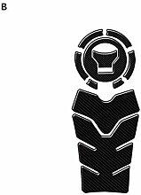 Motorrad Kraftstofftank Pad Schutz, Kohlefaser
