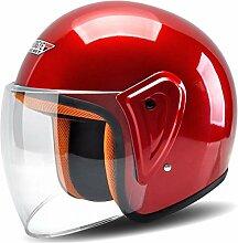 Motorrad Roller Moped Fahrrad Elektrofahrzeug Kopf