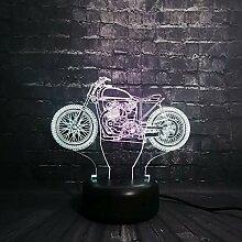 Motorrad Usb Nachtlicht Stimmungsinsekt Kind