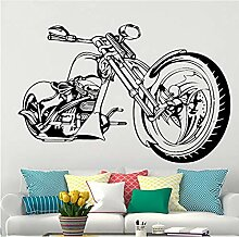 Motorrad Wandkunst Aufkleber Motorrad Poster für