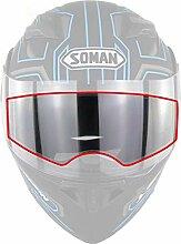Motorradhelm Antibeschlag Folie,Schutzfolien für