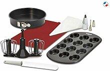 Moulinex XF389010 Backset für Küchenmaschine