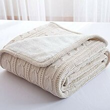 Mountxin Home Cotton Knitted Soft Comfortable