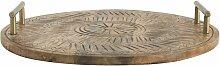 Moutrot Tablett aus Holz