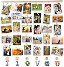 MOVEONSTEP Bilderrahmen Collage Fotorahmen