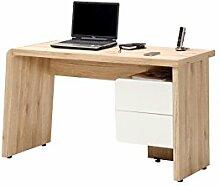 Movian Computertisch mit zwei Schubladen