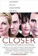 Movie Posters Filmposter Closer - 28 x 43 cm
