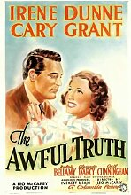 Movie Posters Filmposter The Awful Truth, 11 x 17