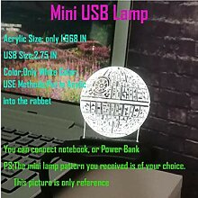 Movie Star Wars 3D USB Astro LED Lampe Cartoon
