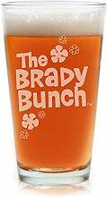 Movies On Glass Bierglas mit Gravur The Brady Bunch
