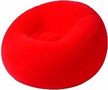 MovilCom® Aufblasbarer Sessel, Einzelstuhl,