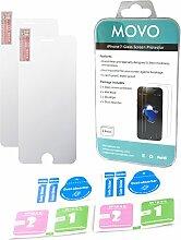 Movo (2Pack) Optisches Glas Displayschutzfolien
